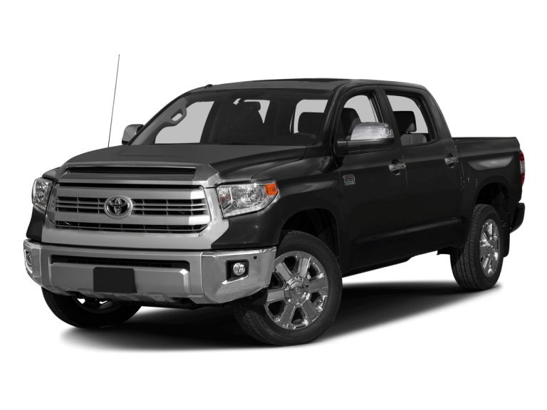 Gray Toyota Tundra - Front View | Carsure