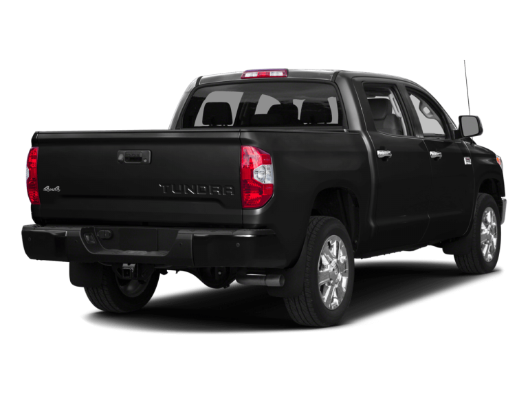 Gray Toyota Tundra - Rear View | Carsure