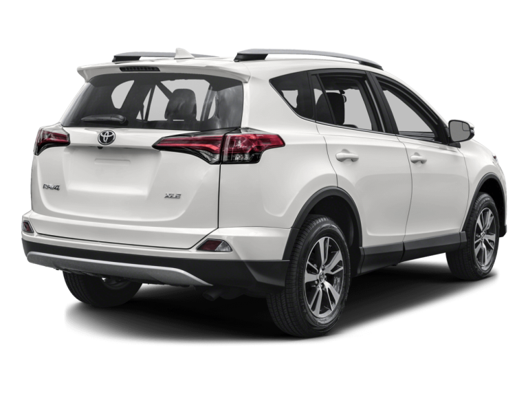 White Toyota Rav4 - Rear View | Carsure
