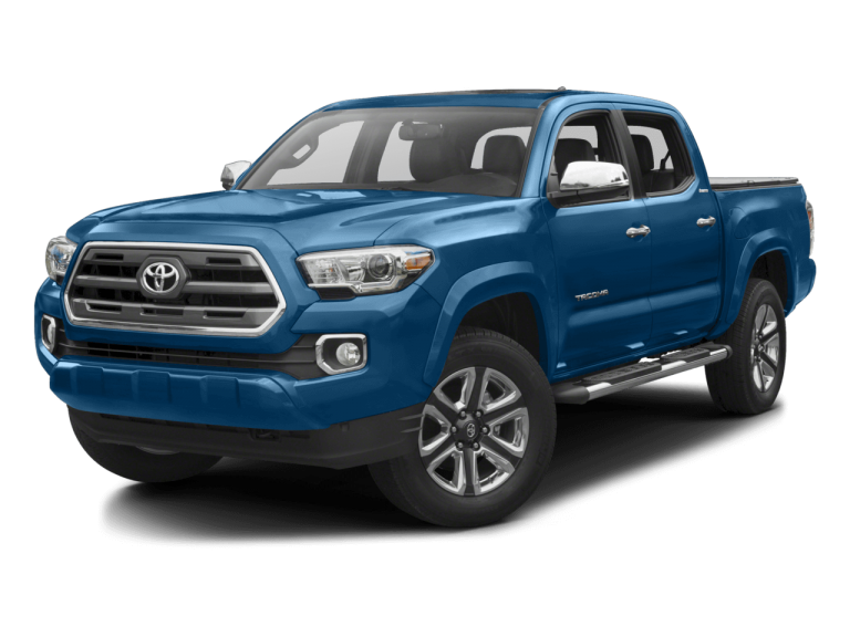 Blue Toyota Tacoma - Front View | Carsure