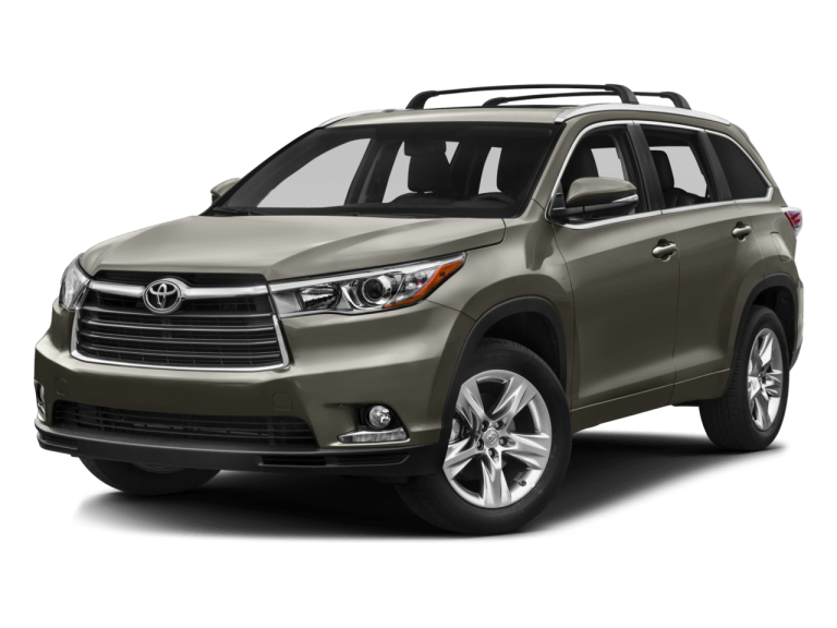 Pewter Toyota Highlander - Front View | Carsure
