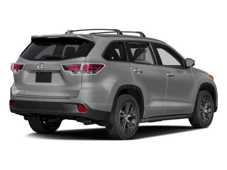 Gray Toyota Highlander - Rear View | Carsure