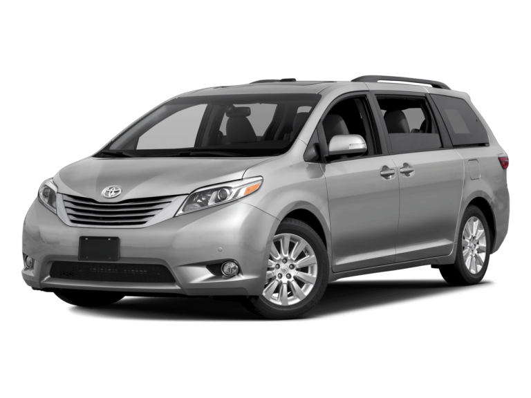 Silver Toyota Sienna - Front View | Carsure