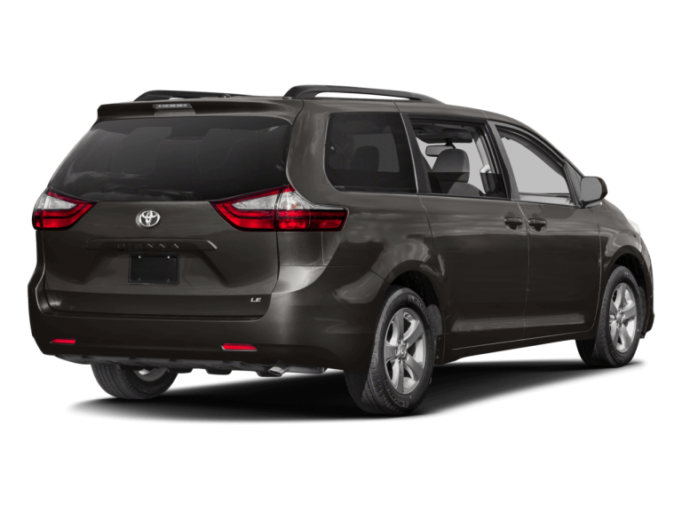 Gray Toyota Sienna - Rear View | Carsure
