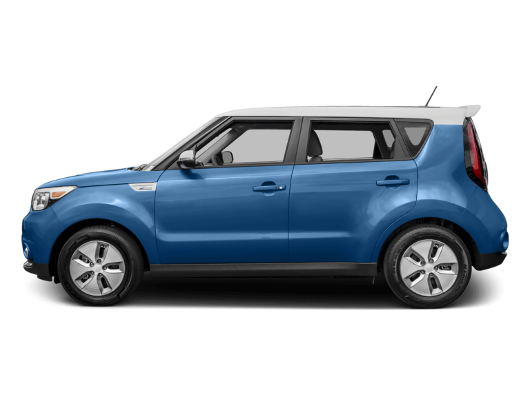 Blue Kia Soul - Side View | Carsure