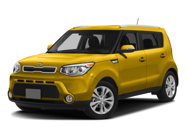 Yellow Kia Soul - Front View | Carsure
