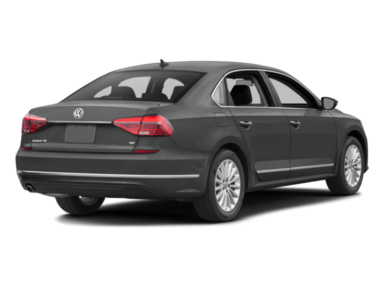 Gray Volkswagen Passat - Rear View | Carsure