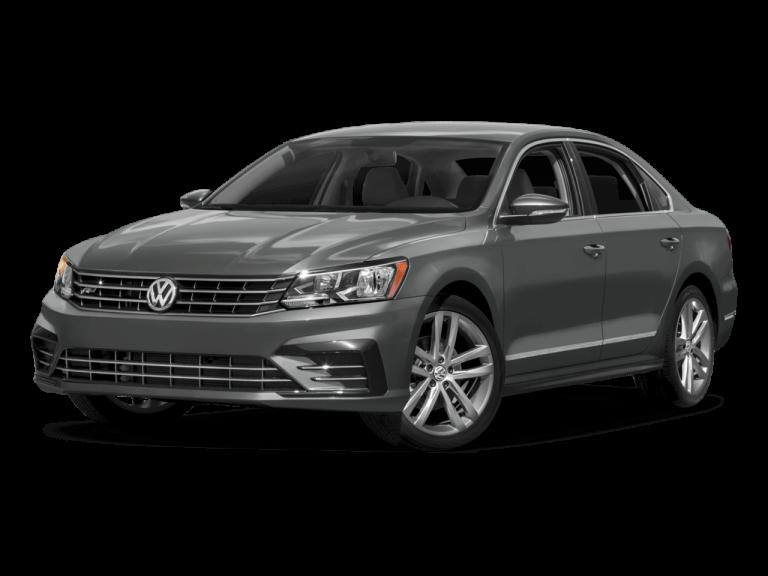 Gray Volkswagen Passat   Front View | Carsure