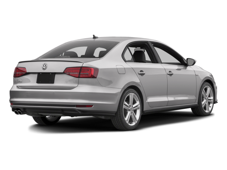 Silver Volkswagen Jetta - Rear View | Carsure