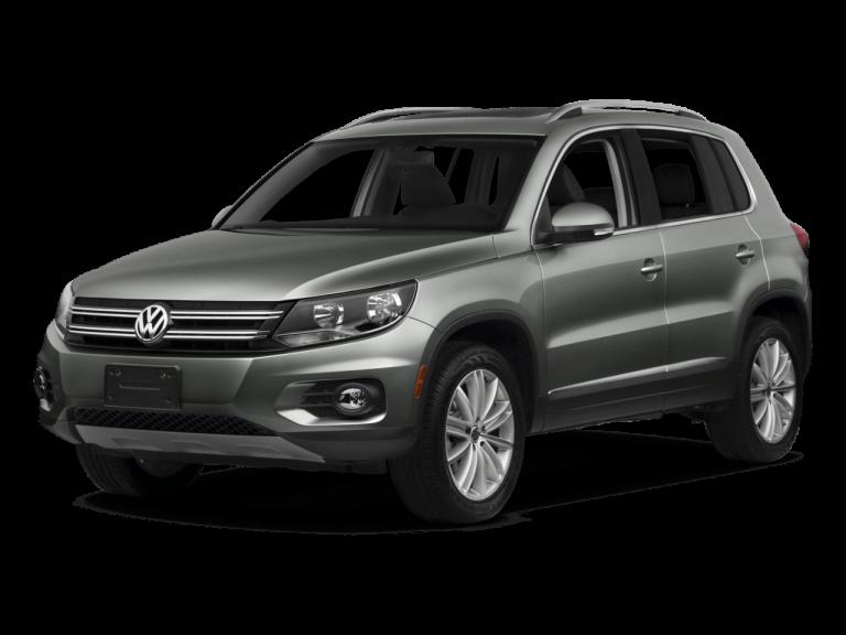 Gray Volkswagen Tiguan - Front View | Carsure