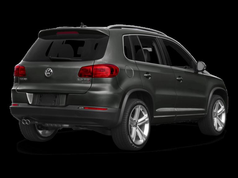Gray Volkswagen Tiguan - Rear View | Carsure