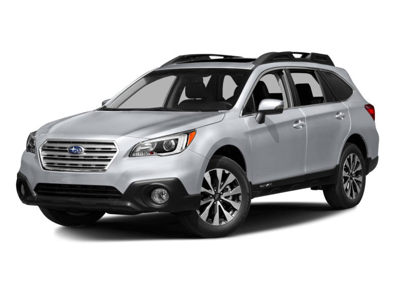 Silver Subaru Outback - Front View | Carsure