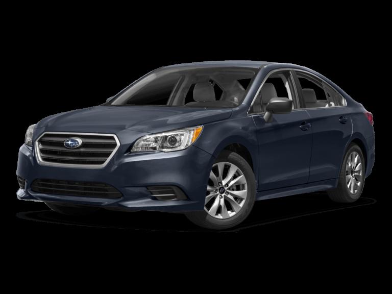 Dark Blue Subaru Legacy - Front View | Carsure