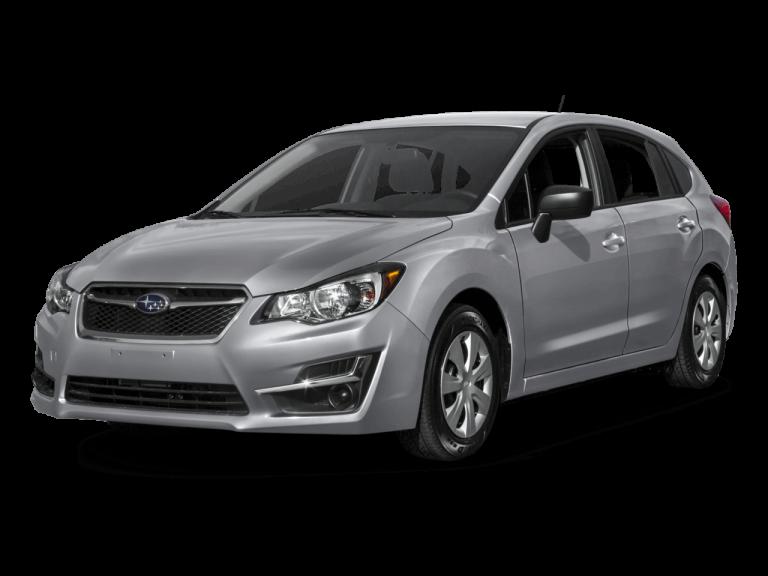 Silver Subaru Impreza - Front View | Carsure