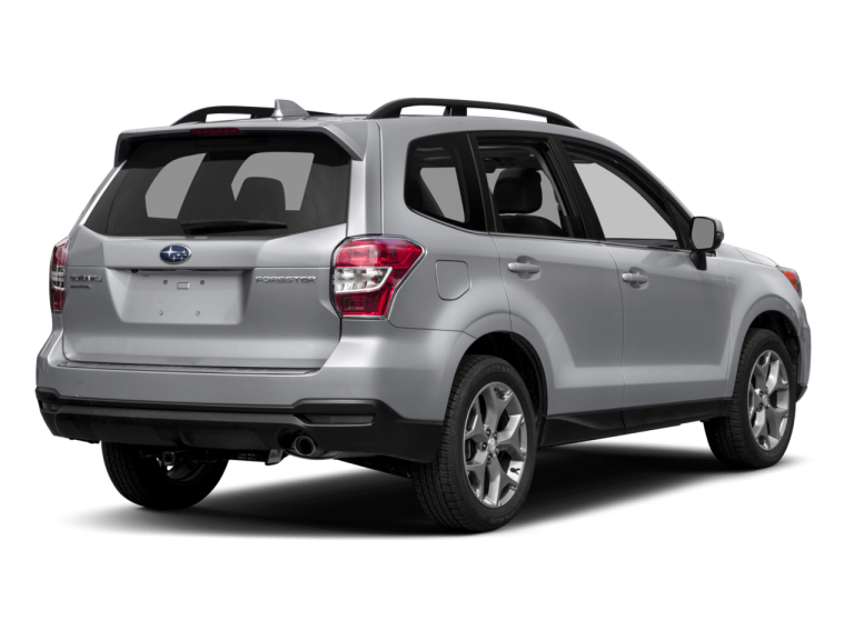 Silver Subaru Forester - Rear View | Carsure