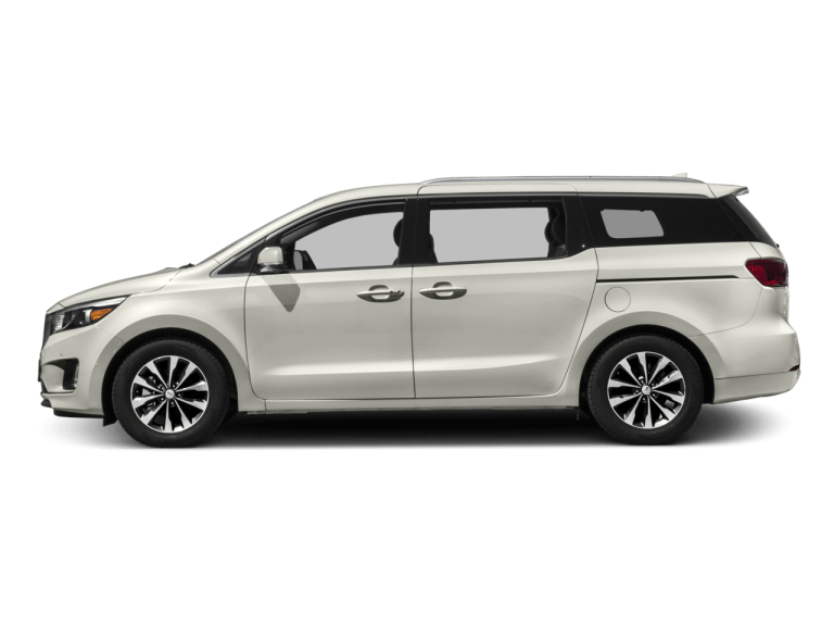White Kia Sedona - Side View | Carsure