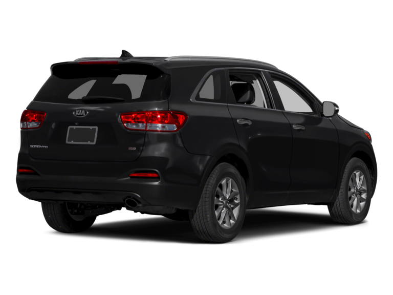 Black Kia Sorento - Rear View | Carsure