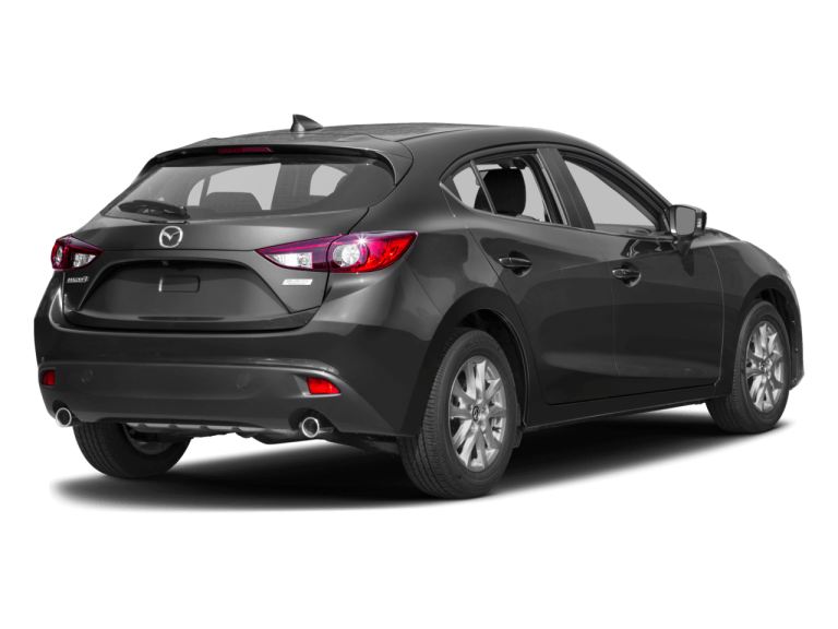 Gray Mazda 3 - Rear View | Carsure