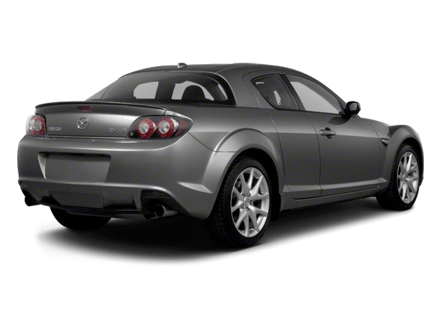 Gray Mazda RX8 - Rear View | Carsure