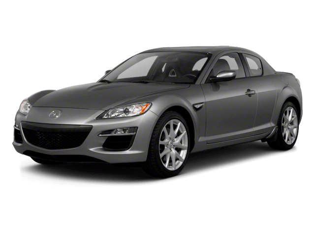 Gray Mazda RX8 - Front View | Carsure
