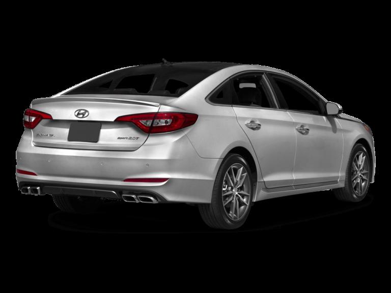 Silver Hyundai Sonata - Rear View | Carsure