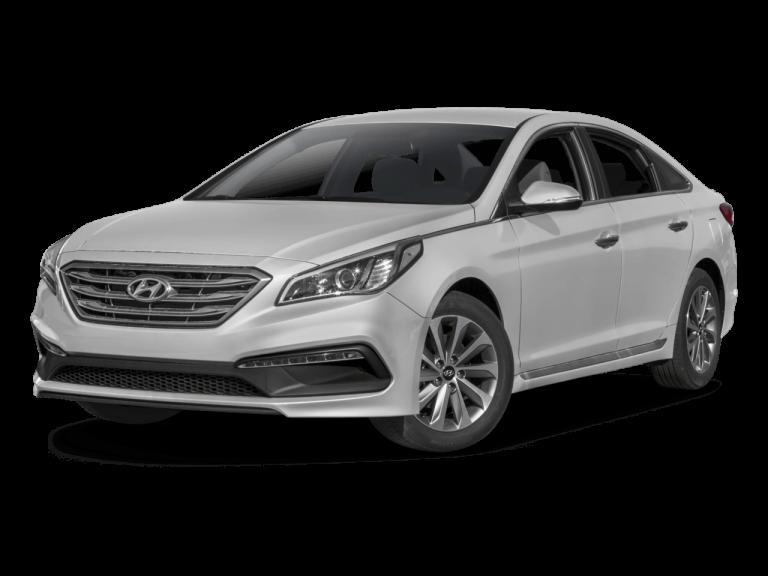 Silver Hyundai Sonata - Front View | Carsure