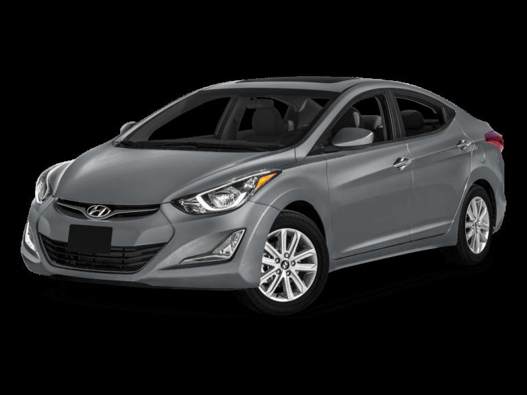 Gray Hyundai Elantra - Front View   Carsure