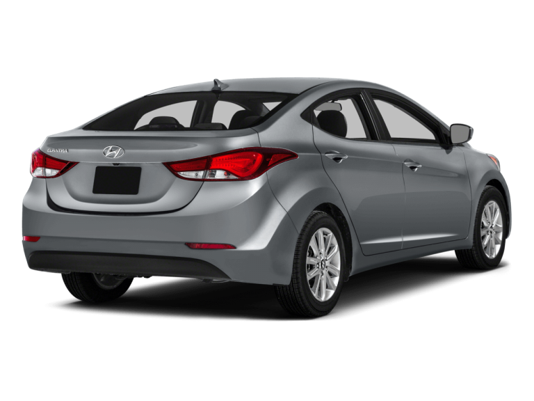 Gray Hyundai Elantra - Rear View | Carsure