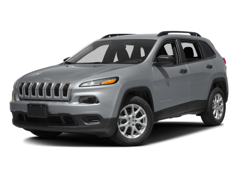 Silver Jeep Cherokee - Front View | Carsure