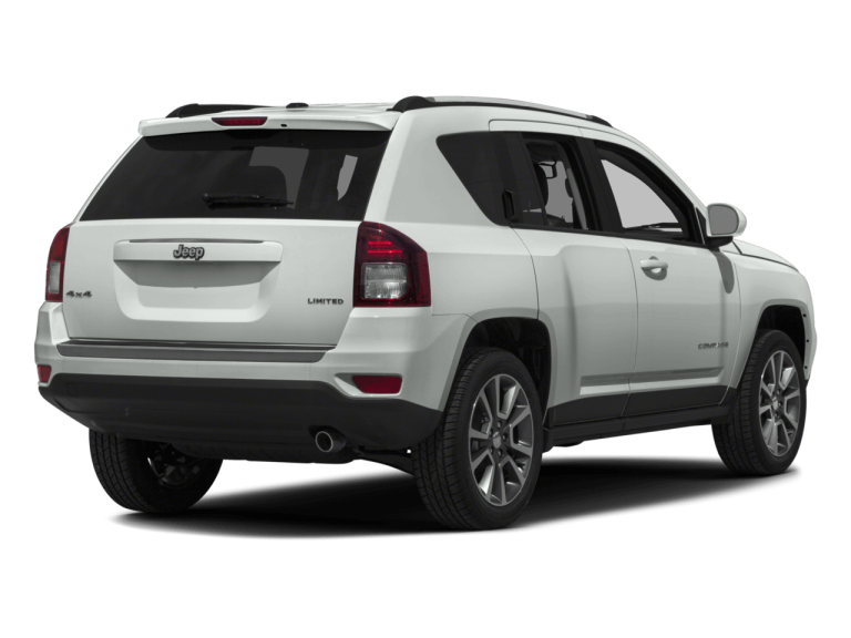 White Jeep Compass - Rear View | Carsure
