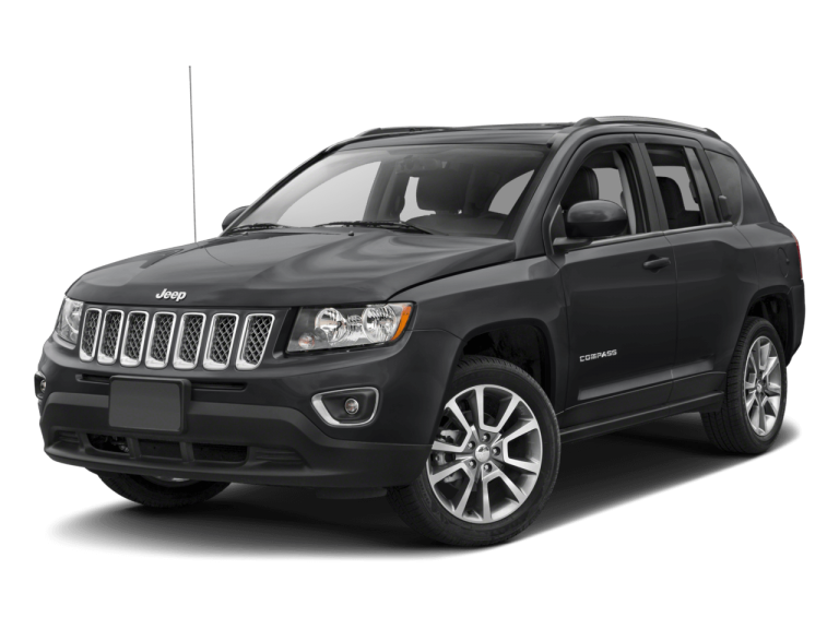 Black Jeep Compass - Front View | Carsure