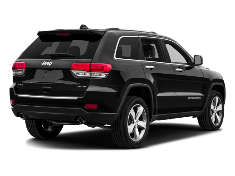 Black Jeep Grand Cherokee - Rear View | Carsure