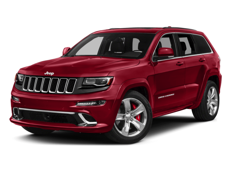 Red Jeep Grand Cherokee - Front View | Carsure