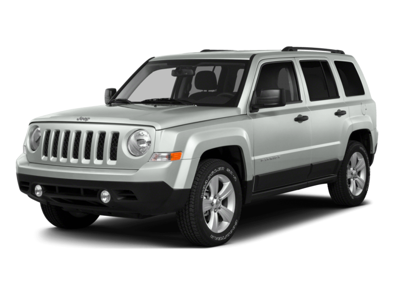 Silver Jeep Patriot - Front View | Carsure