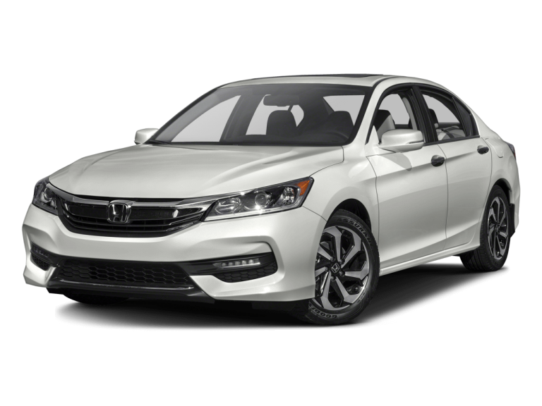 White Honda Accord - Front View | Carsure