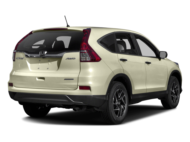 White Honda CRV - Rear View | Carsure