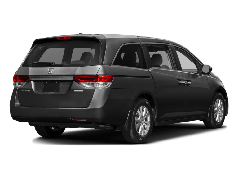 Gray Honda Odyssey - Rear View | Carsure