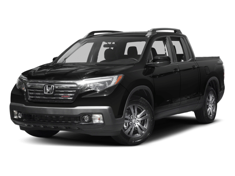 Black Honda Ridgeline - Front View | Carsure