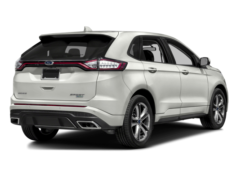 White Ford Edge - Rear View | Carsure