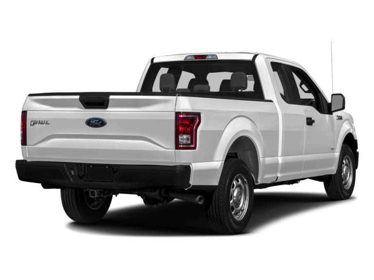White Ford F150 - Rear View | Carsure