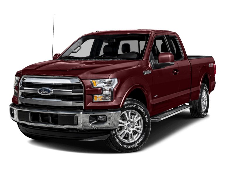Red Ford F150 - Front View | Carsure