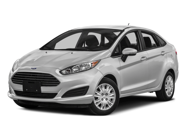 Silver Ford Fiesta - Front View | Carsure