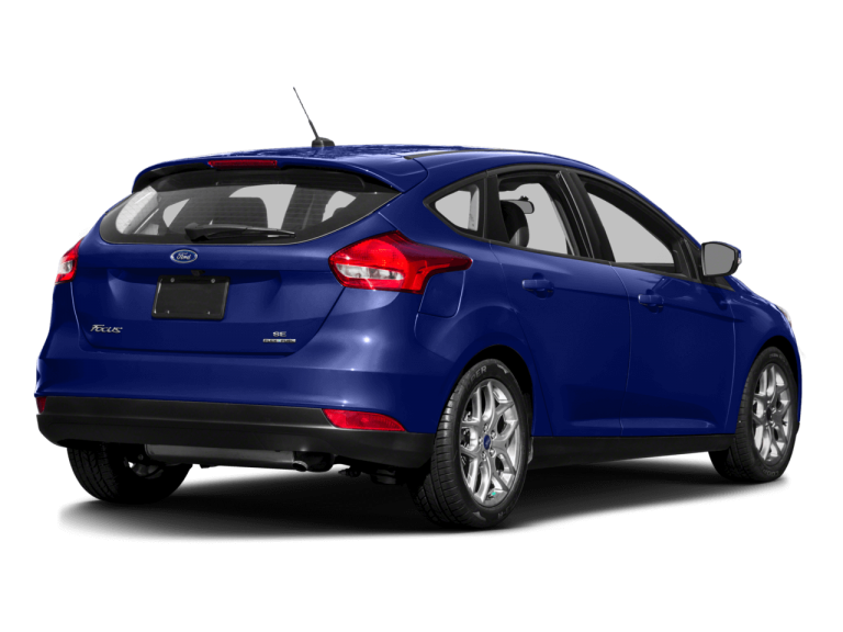 Blue Ford Focus - Rear View | Carsure