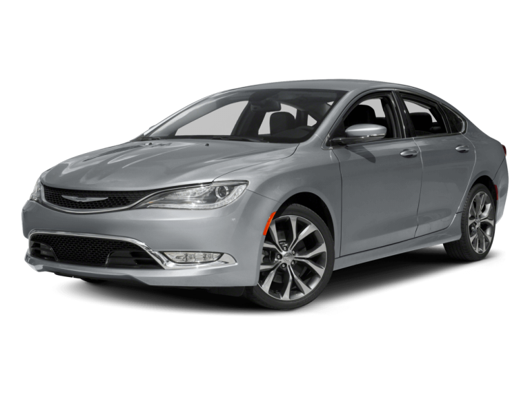 Silver Chrysler 200 - Front View | Carsure