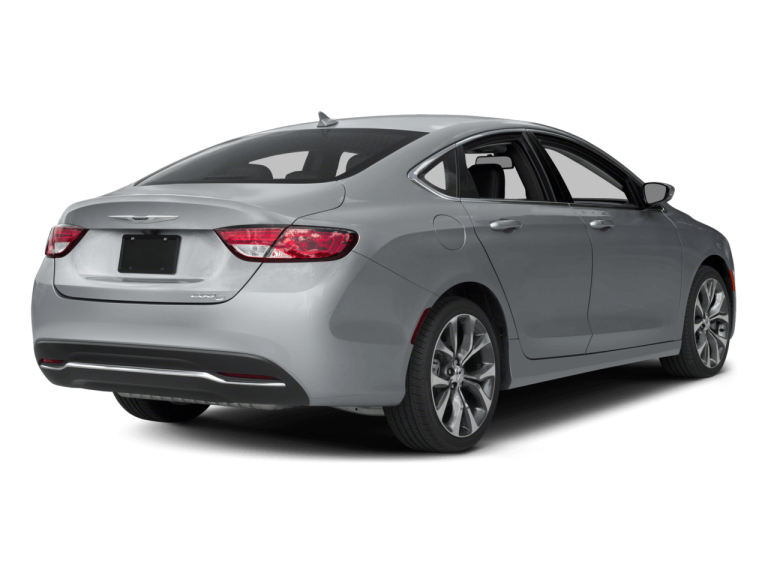 Silver Chrysler 200 - Rear View | Carsure