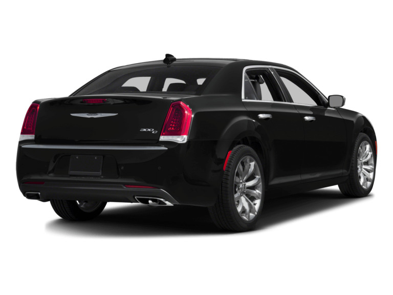 Black Chrysler 300 - Rear View | Carsure