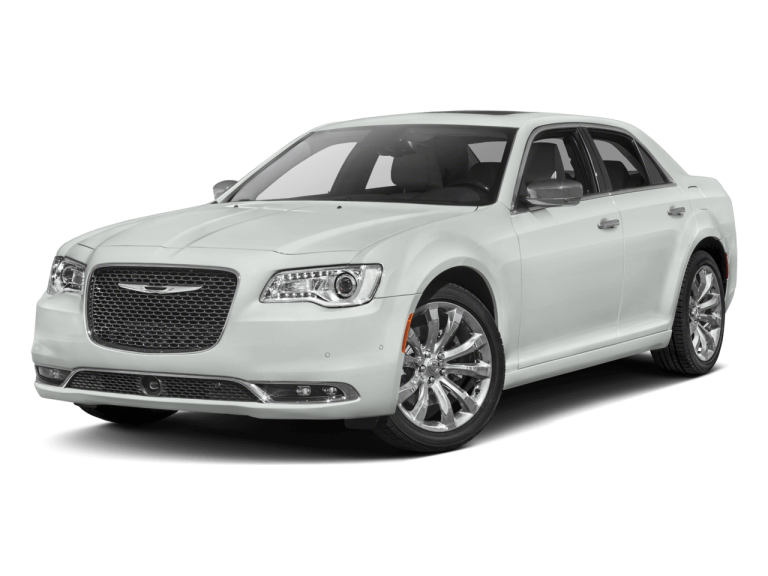 White Chrysler 300 - Front View | Carsure