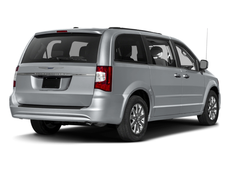 Silver Chrysler Town Country - Rear View | Carsure