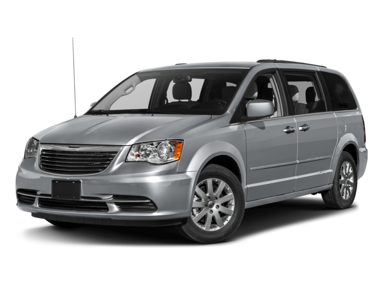 Silver Chrysler Town Country - Front View | Carsure