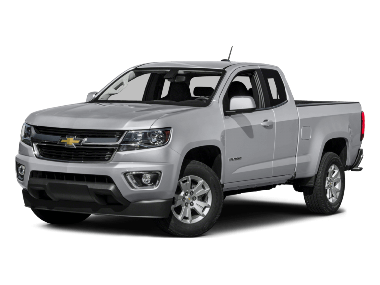Silver Chevrolet Colorado - Front View | Carsure